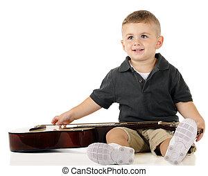 Happy Guitar Boy