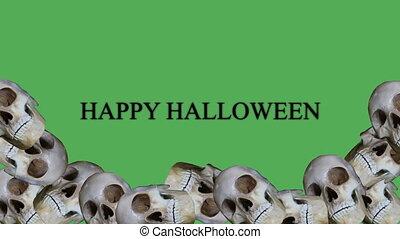 happy halloween animation