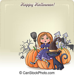 Happy Halloween background 3
