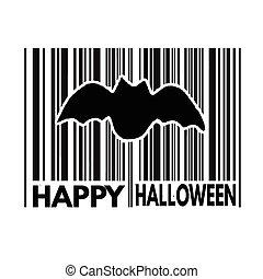 Happy Halloween barcode