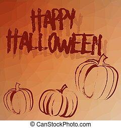 halloween card template