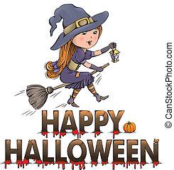Happy Halloween composition
