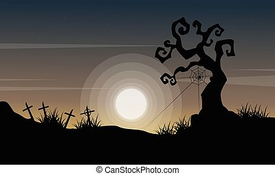 Happy Halloween day background style
