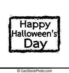 Happy Halloween DAY Illustration design