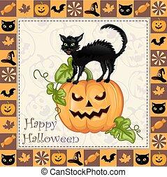 Happy Halloween frame