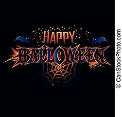 Happy Halloween greeting