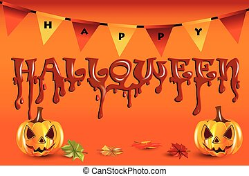 Happy Halloween Party Background