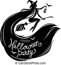 Happy Halloween party poster
