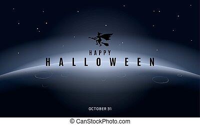 Happy Halloween. Poster. Modern sty - Vector Halloween ...