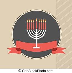 happy hanukkah, jewish holiday.