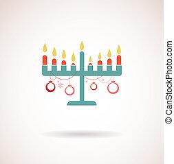 happy hanukkah, jewish holiday