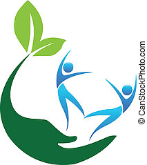 Happy Healthy people logo