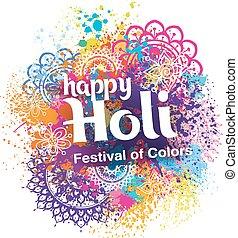 Happy Holi festival of colors