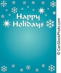 Happy Holiday Background