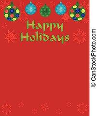 Happy Holiday Background