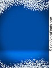 Happy Holidays Blank Winter Background - Happy Holidays...