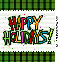Happy Holidays Design