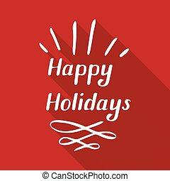 happy holidays small