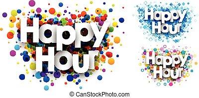 Happy hour colour backgrounds. - Happy hour colour...