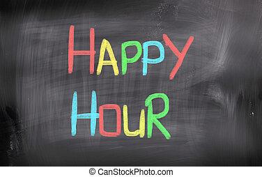 Happy Hour Concept