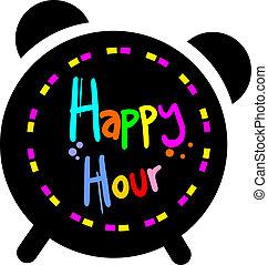 Creative design of happy hour