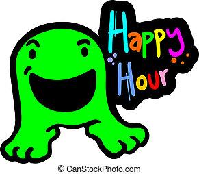 Happy hour - Creative design of happy hour