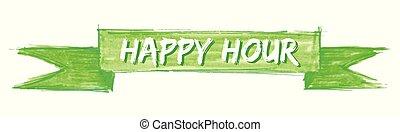 happy hour ribbon