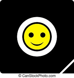 happy icon design