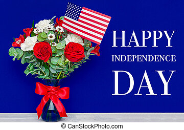 22613abc54558c Independence day. happy 4th of july concept. american flag ...