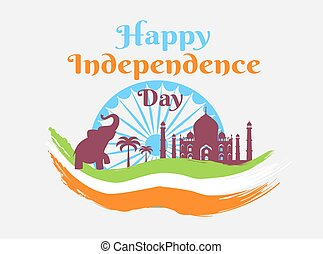 Happy Independence Day in India Holiday Poster