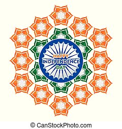happy independence day of india illustration vector