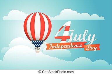 Happy independence day. Vector illustration