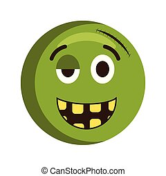 Happy injured emoji