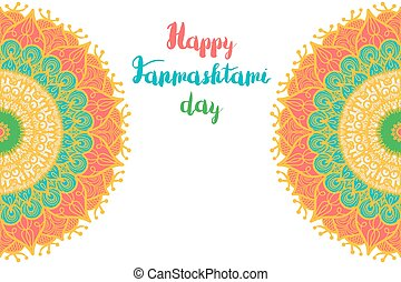 Happy Janmashtami Day Banner - Happy Janmashtami Day...