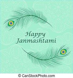 Happy janmashtami, Indian feast of the birth of Krishna....