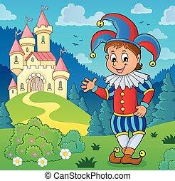 Happy jester theme image 3