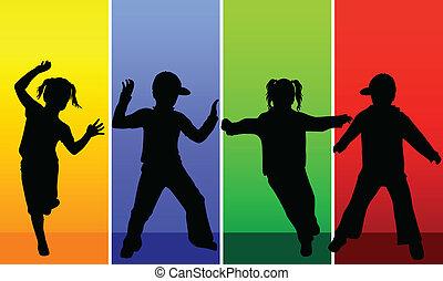 happy kids children