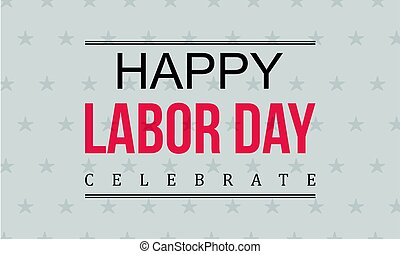 Happy labor day background collection
