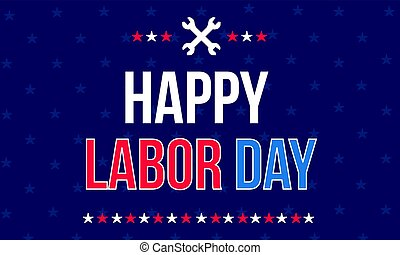 Happy labor day background style