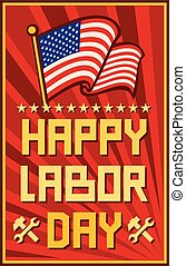 Happy Labor Day design