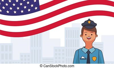 Happy labor day HD animation - Happy labor day card with...
