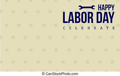 Happy labor day style background