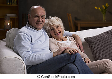Happy life together in older age