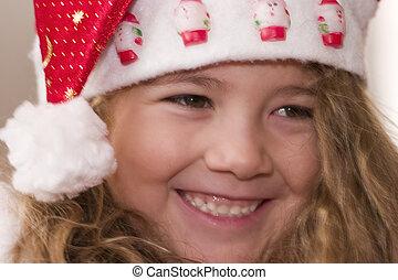 happy little Santa