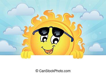 Happy lurking sun theme image 5