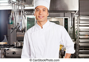 Happy Male Chef