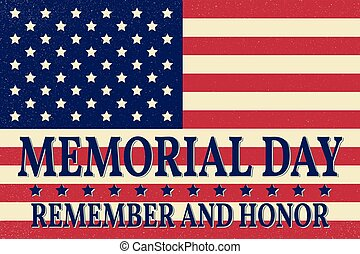 Happy Memorial Day background template. Happy Memorial Day ...