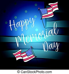 happy memorial day style design
