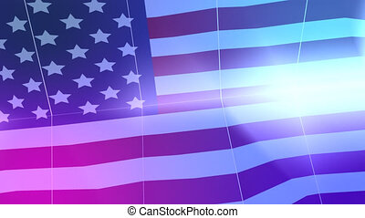 Happy memorial day theme animation video background