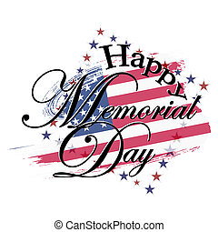 Happy memorial day USA